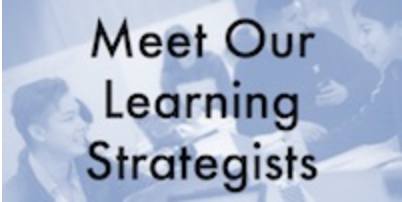 meet your learning strategists