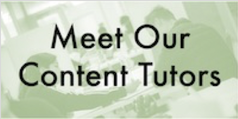 meet your content tutors